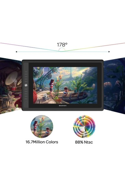 Gaomon 15.6 Inc Full-Laminated 88% Ntsc Kalem Ekranı