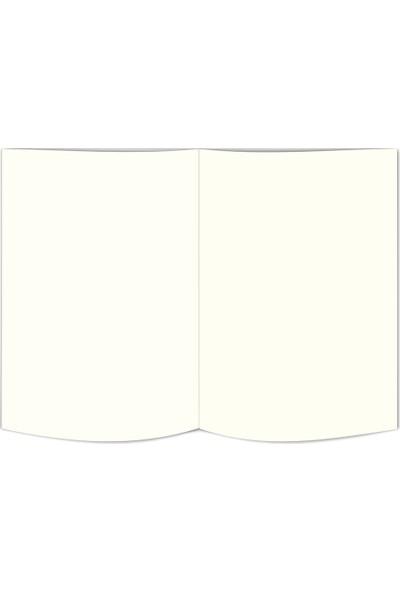 Le Color Replay Sert Kapak Lastikli Düz Defter 80 gr 17 x 24 cm