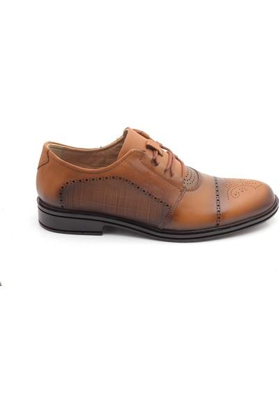 Man Deri Sport Klasik Topuk Destekli Günlük Erkek Ayakkabı
