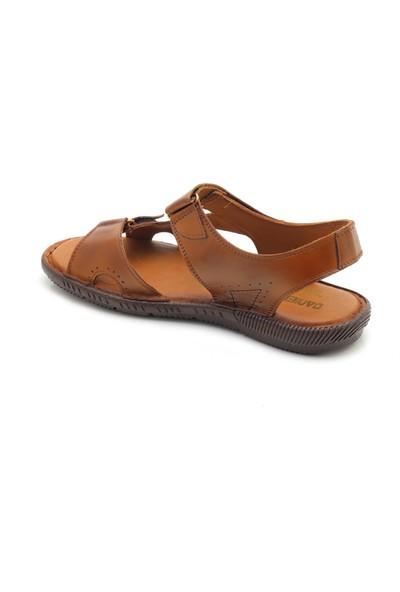 Man Yumuşak Deri Erkek Sandalet Ayakkabı