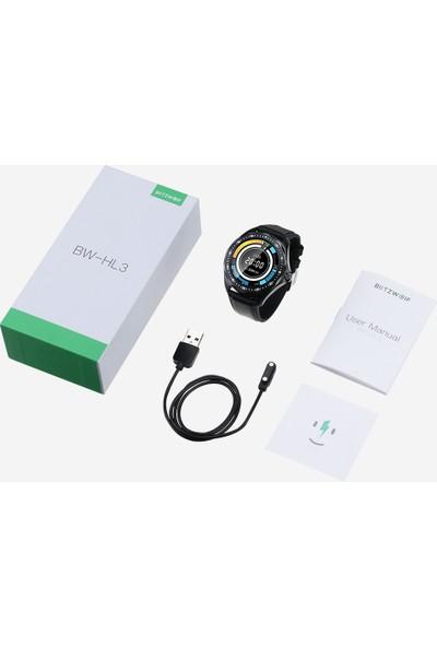 Blitzwolf Bw-Hl3 Akıllı Saat Tam Dokunmatik Ekran Android ve iPhone Uyumlu (Yurt Dışından)