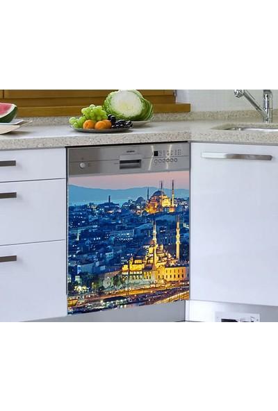 Jasmin Bulaşık Makinesi Sticker Istanbul