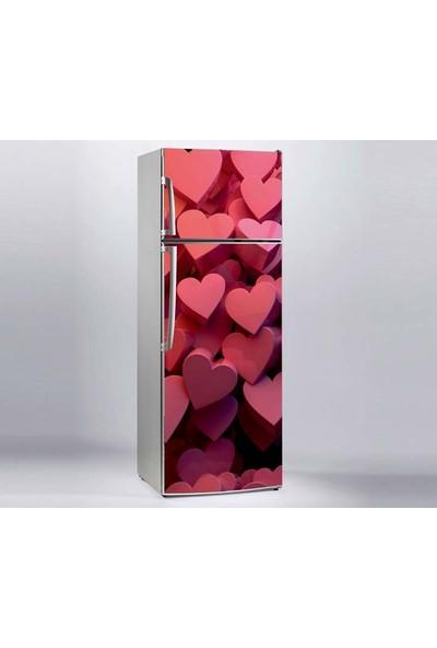Jasmin Buzdolabı Sticker Aşk Kalpleri