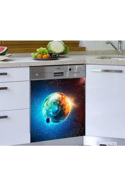 Jasmin Bulaşık Makinesi Sticker Dünya Güller