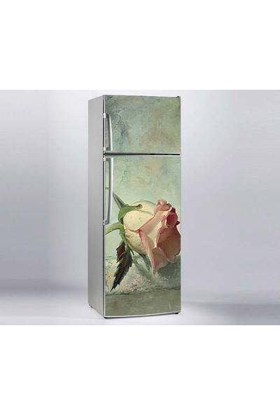 Jasmin Buzdolabı Sticker Tablo Gül