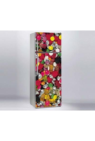 Jasmin Buzdolabı Sticker Şekerler