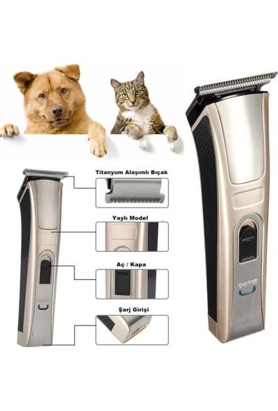 Insua Kedi Köpek Tıraş Seti Pet Evcil Hayvan Tüy Kesme Traş Tıraş Makinesi Seti