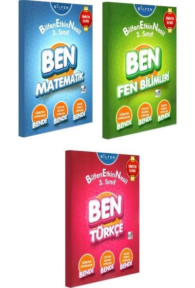 Bilfen Yayınları 3. Sınıf Ben Matematik Türkçe Fen Bilimleri Bilfen Etkin Nesil Seti 3 Kitap