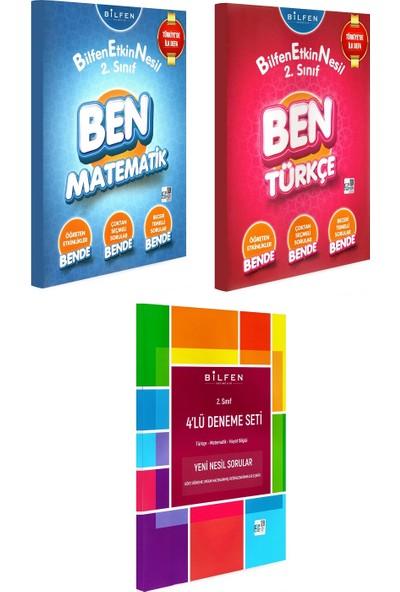 Bilfen Yayınları 2. Sınıf Ben Matematik Türkçe Etkin Nesil + Deneme Seti 3 Kitap