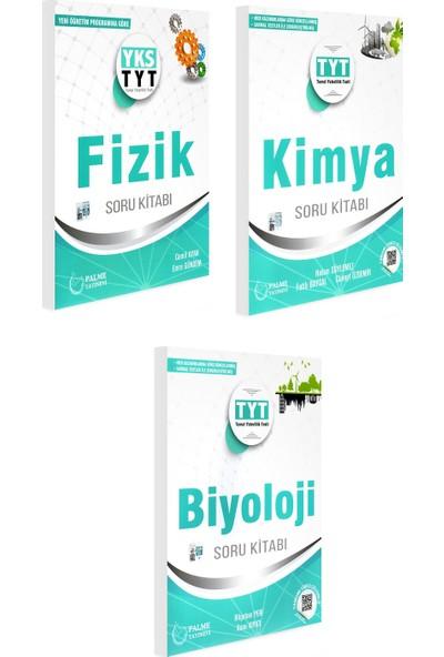 Palme Yayıncılık Tyt Fizik Kimya Biyoloji Soru Bankası Seti 3 Kitap