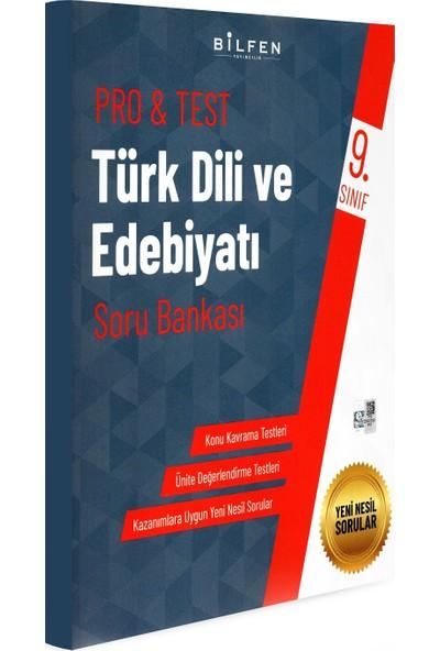 Bilfen Yayınları 9. Sınıf Pro & Test Türk Dili ve Edebiyatı Soru Bankası