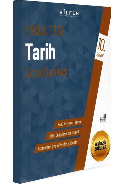 Bilfen Yayınları 10. Sınıf Pro & Test Tarih Soru Bankası