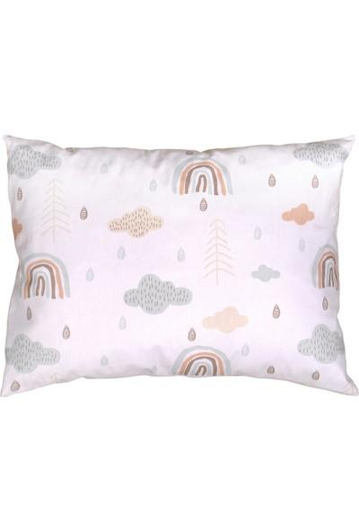Safemom Bebek Uyku Yastığı Gökkuşağı Desenli SM0150
