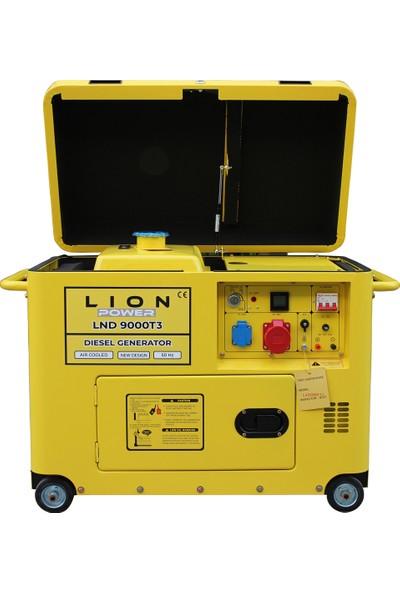 Lion Power Lnd 9000T3 8,0 Kva Trifaze Kabinli Sessiz Marşlı Dizel Jeneratör