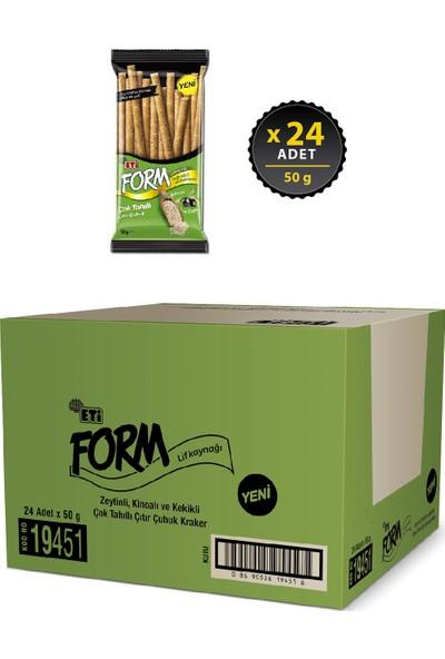 Eti Form Zeytinli Kinoalı Çıtır Çubuk Kraker 50 g x 24 Adet