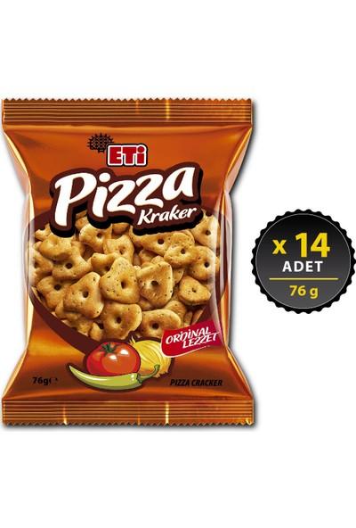 Eti Pizza Kraker 76 g x 14 Adet