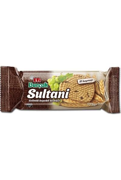 Eti Burçak Sultani Bisküvi 123 g x 12 Adet