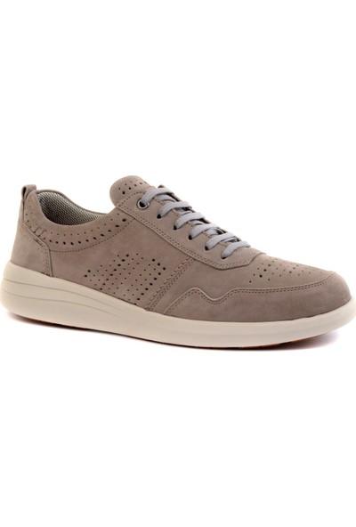 Freefoot - Gri Nubuk Erkek Günlük Ayakkabı