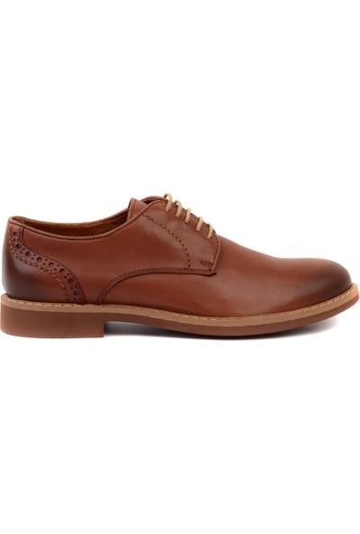 Freefoot - Taba Deri Erkek Klasik Ayakkabı