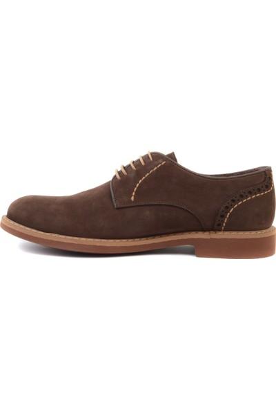 Freefoot - Kahverengi Nubuk Erkek Klasik Ayakkabı