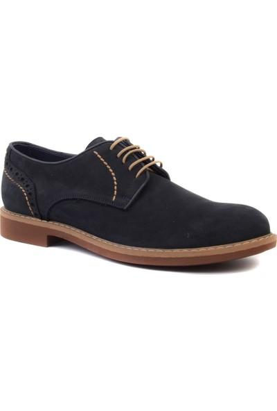 Freefoot - Lacivert Nubuk Erkek Klasik Ayakkabı