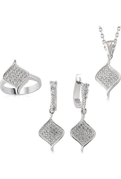 Beyazıt Takı Gümüş Klasik Kadın Set