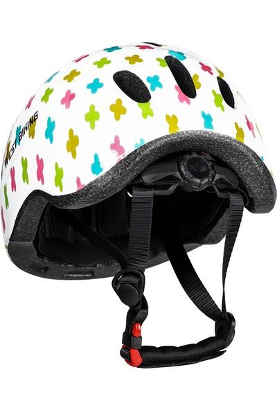 Lixada Çocuk Bisiklet Kask Eps Hafif Bisiklet Silindir Kaykay