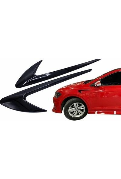 Otozum Renault R9 Yan Çamurluk Dış Çıta Izgarası Piano Black