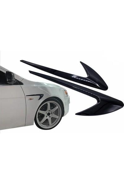 Otozum Bmw E30 Yan Çamurluk Dış Çıta Izgarası Piano Black