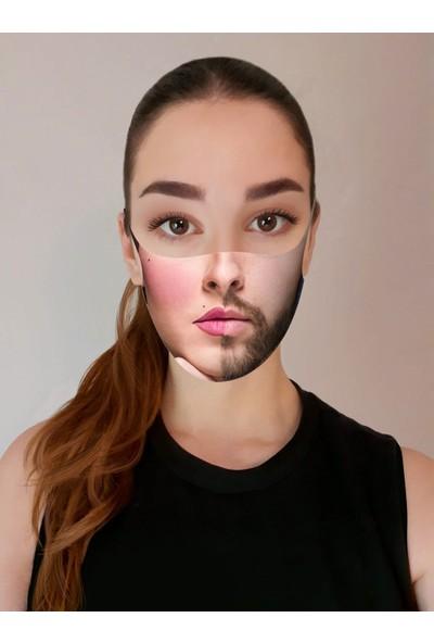 Art Face Aksesuar Yüz Maskesi