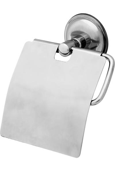 Tema Solo Paslanmaz Kapaklı Tuvalet Kağıtlığı 71411
