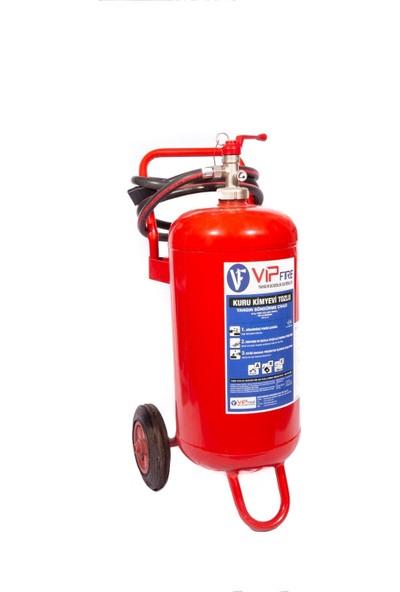 Vipfire 50 kg Kuru Kimyevi Tozlu Yangın Söndürme Cihazı