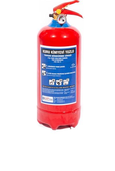 Vipfire 2 kg Kuru Kimyevi Tozlu Yangın Söndürme Cihazı