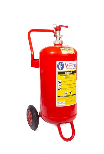 Vipfire 25 kg Köpüklü Yangın Söndürme Cihazı