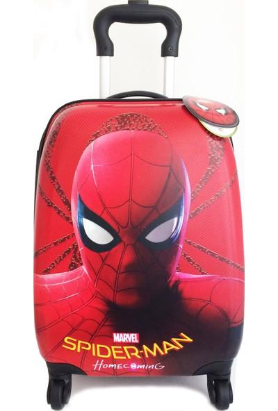 Hakan Çanta Spıderman Çocuk Valiz Bavul