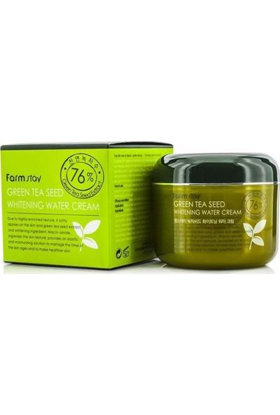 Farmstay Green Tea Seed - Beyazlatma, Gözenek Sıkılaştırıcı ve Sivilce Karşıtı Krem 100ML
