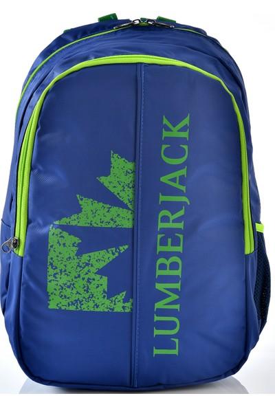 Lumberjack 8504 Okul Sırt Çantası Mavi