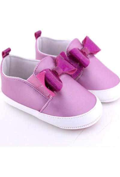 Funny Baby Simili Fiyonklu İlk Adım Ayakkabısı
