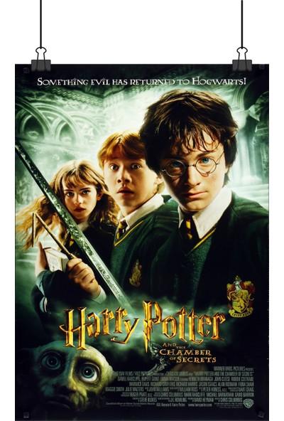 Harry Potter ve Sırlar Odası Chamber Of Secrets Film Afiş 48 x 33 cm Posteri