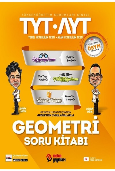 Metin Yayınları TYT - AYT Geometri Soru Kitabı 2020