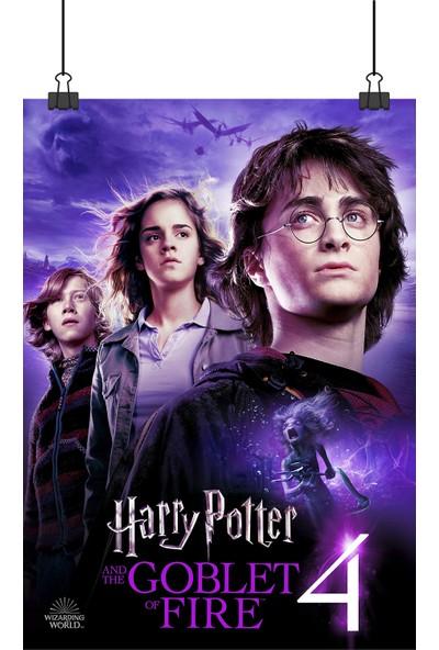 Harry Potter Ateş Kadehi 4 Goblet Of Fire Film Afiş 48 x 33 cm Posteri