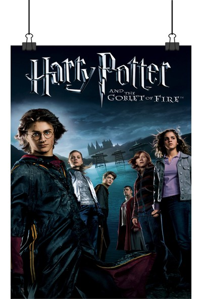 Harry Potter ve Ateş Kadehi Goblet Of Fire Film Afiş 48 x 33 cm Posteri
