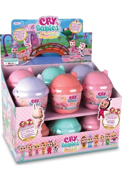 IMC Toys Cry Babies Magic Tears Sürpriz Paket Turuncu 98442