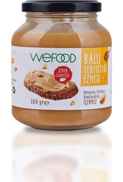 Wefood Yerfıstığı Ezmesi Ballı 300 gr