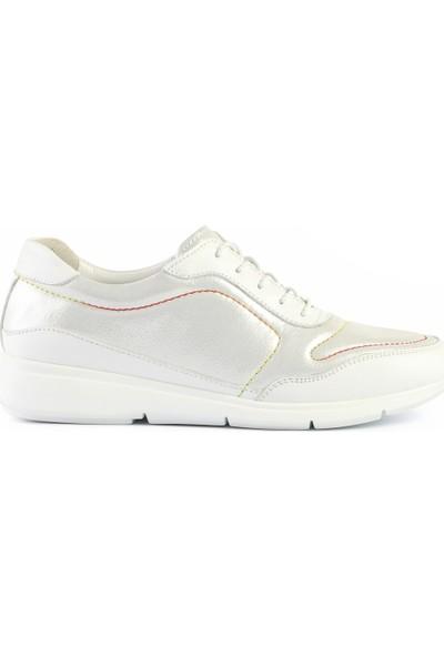 Libero Ae0082 Kadın Spor Ayakkabı Beyaz