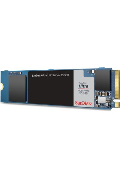 SanDisk Ultra 3D 500GB 2400MB-1750MB/s NVMe M.2 SSD SDSSDH3N-500G-G25