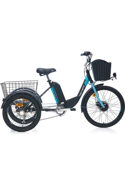 Carraro Epack Elektrikli 3 Tekerli Bisiklet Md 24 Jant 6 Vites