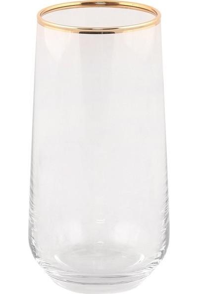 Altenta Altın Yaldızlı Su Bardağı 6 Parça Takım