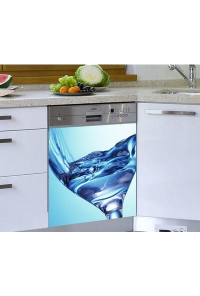 Jasmin Bardağı Bulaşık Makinesi Sticker Su