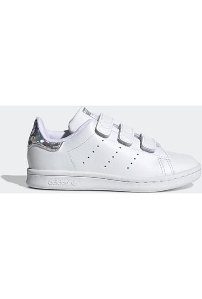 adidas Çocuk Günlük Spor Ayakkabı Stan Smith Cf C EE8484